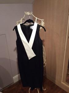 B&W Tux Dress by Paper Doll