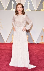 Isabelle Huppert in Armani Prive