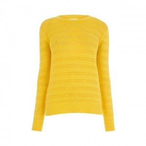 Stitchy Open Back Jumper, Warehouse