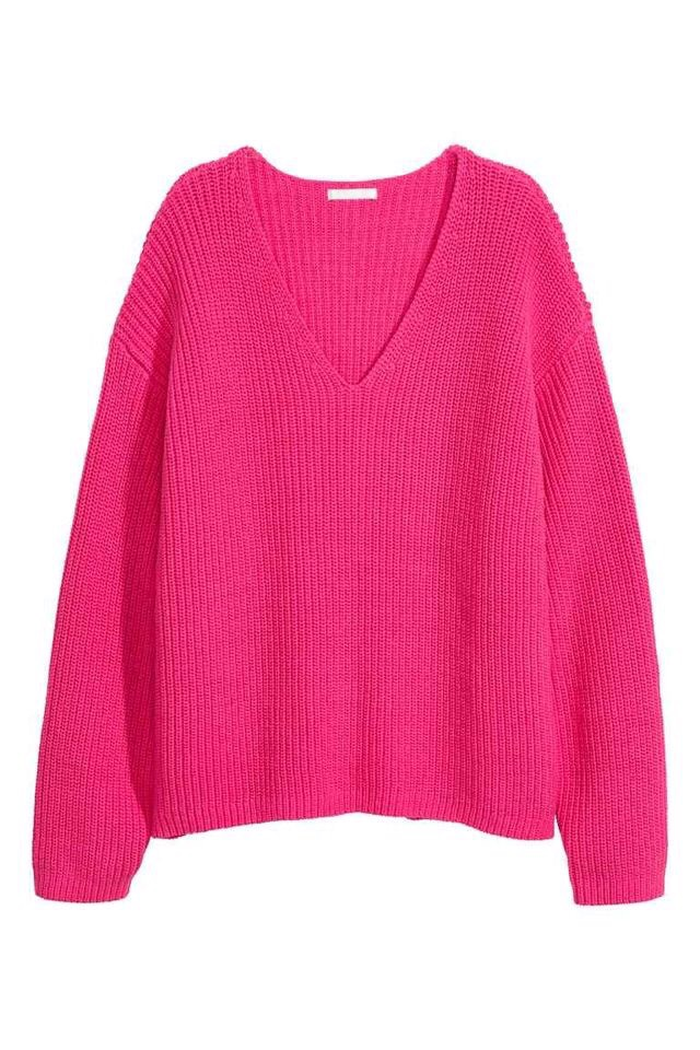 H&M Hot Pink Sweater - £34.99