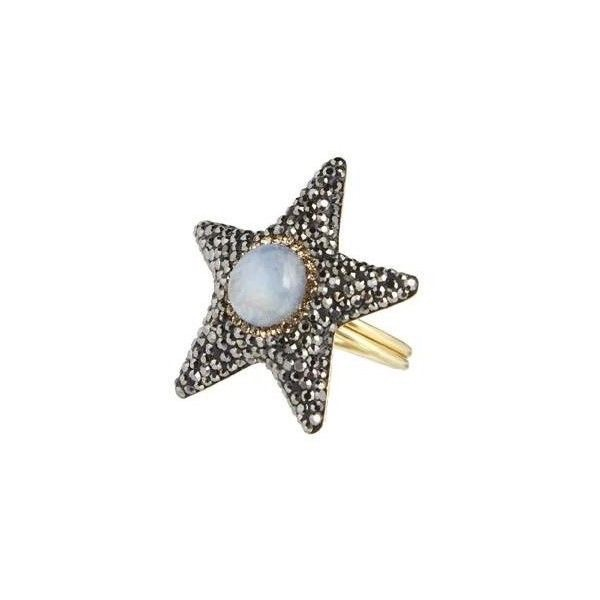 Moonstone Star Ring, Soru, £95